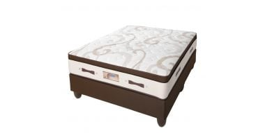 Edblo Zircon 152cm (Queen) Firm Bed Set
