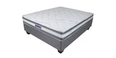 Sleepmasters Seattle 107cm (Three Quarter) Firm Bed Set